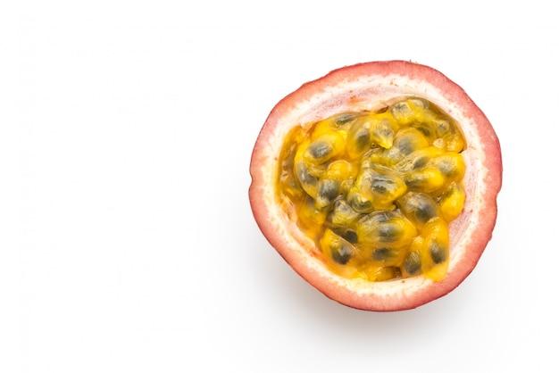 Fresh passion fruit isolated