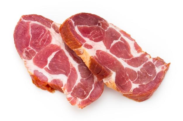 Стейк из свежего свиного мяса