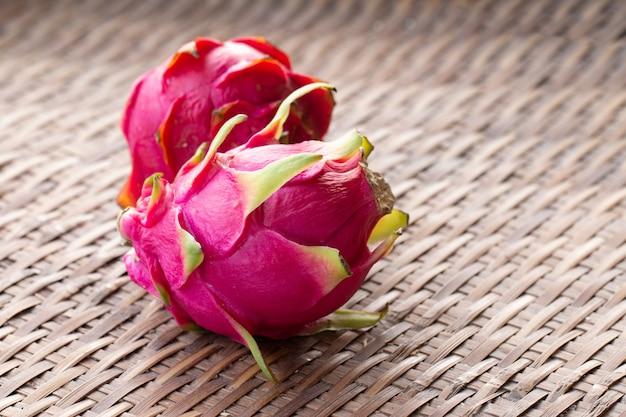 Fresh pitahaya fruit