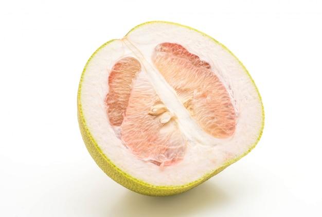 Fresh pomelo isolated