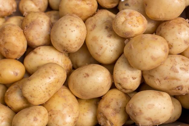 Свежий картофель абстрактный фрукт красочный