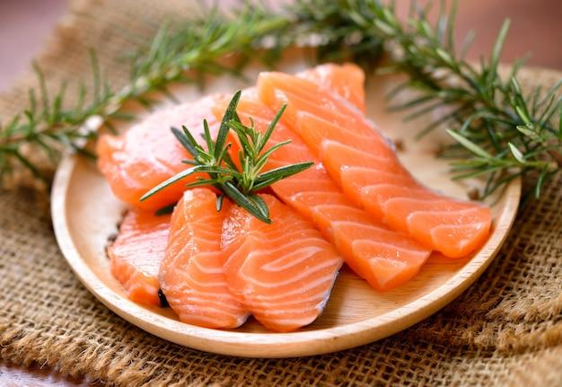 新鮮な生鮭