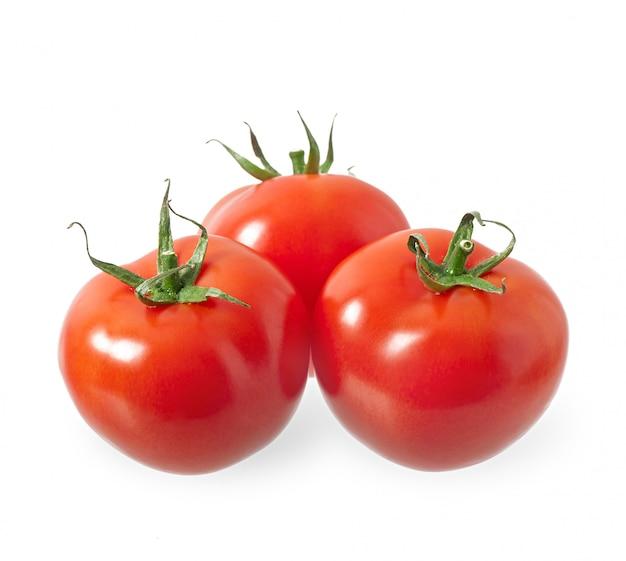 Свежие красные помидоры