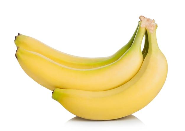 Fresh ripe organic bananas