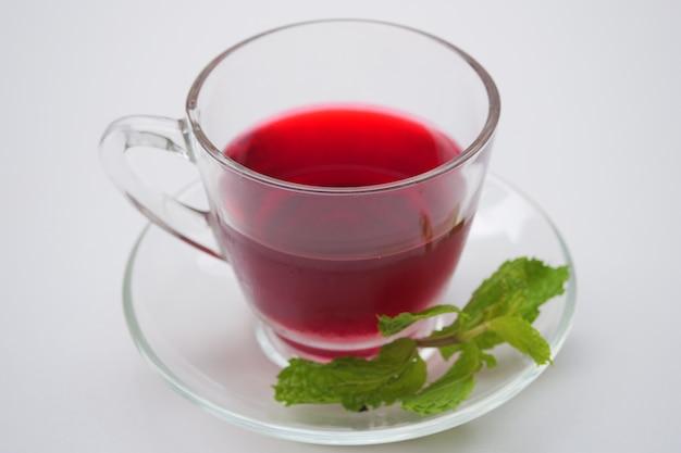 Fresh roselle juice (healthy drink)
