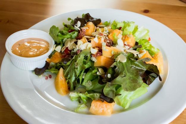 Fresh salad dish