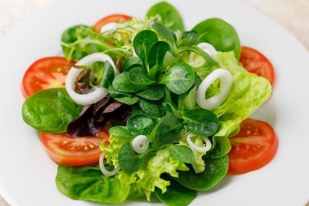 Fresh salad of vegetables