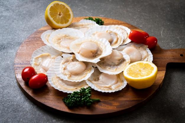新鮮な貝殻