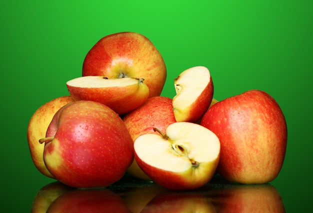 Fresh and tasty apples