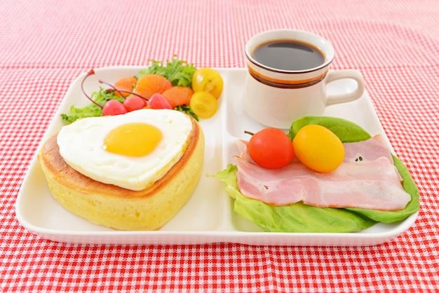 Fresh and tasty bread breakfast