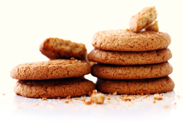 Fresh and tasty oat biscuits