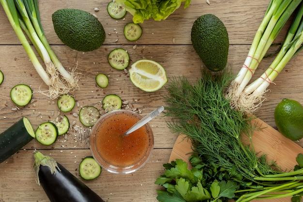 Свежие овощи для салата