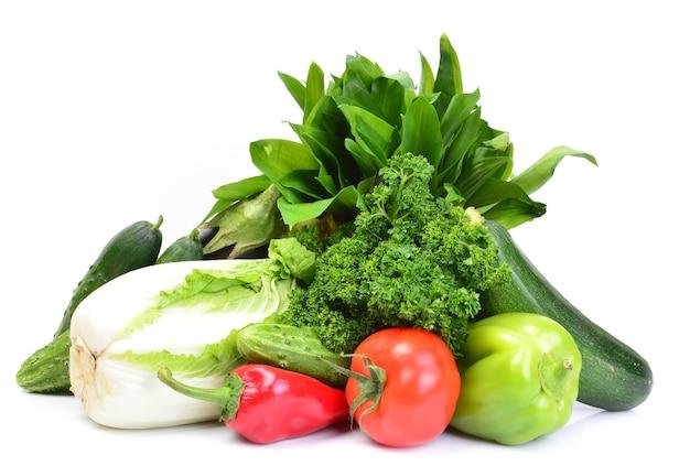 신선한 채소들