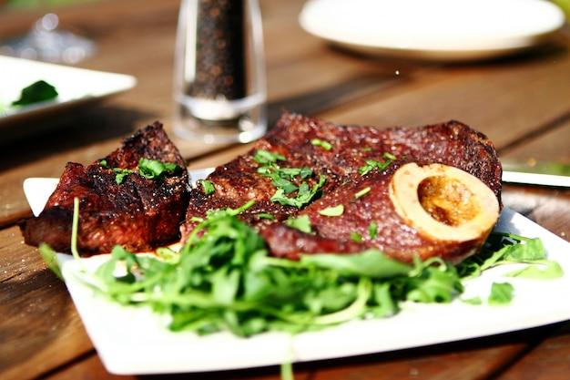 Fresh and very tasty steak