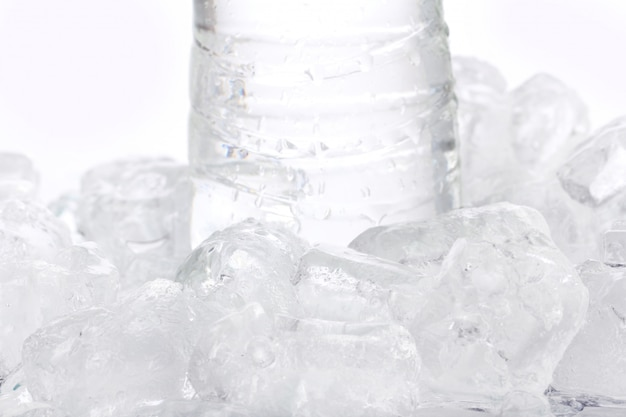 Fresh water in bottle
