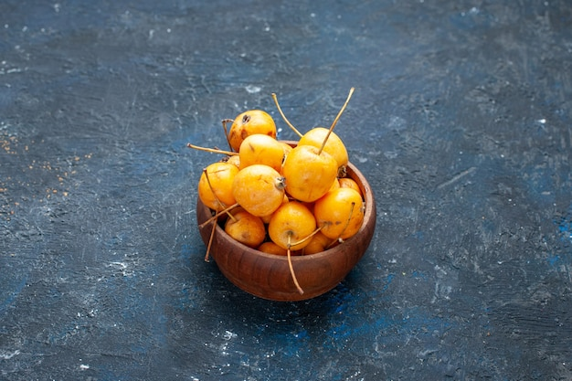ダークフロアのフレッシュイエローチェリー熟した甘いフルーツフルーツベリーフレッシュメロウ