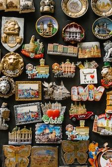 Fridge magnet in ukraine, lviv