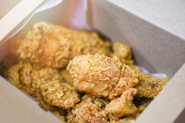 Fried chicken box delivery to home