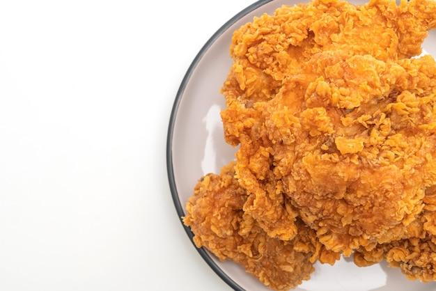 Жареная куриная мука (нездоровая и нездоровая пища)