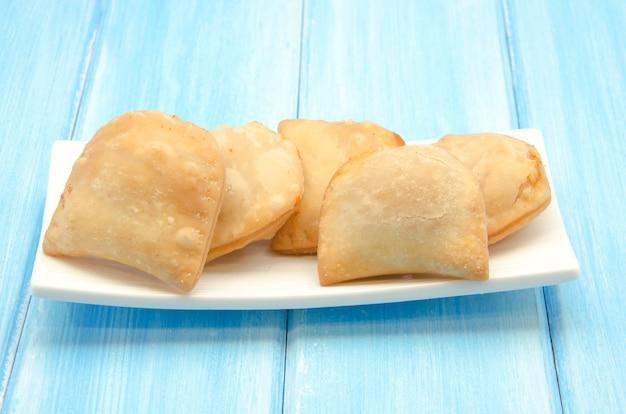 Fried dumplings with filling