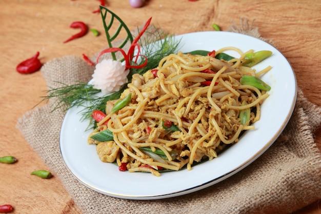 Fried java noodles