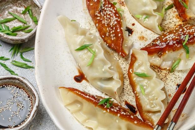 Fried korean dumplings