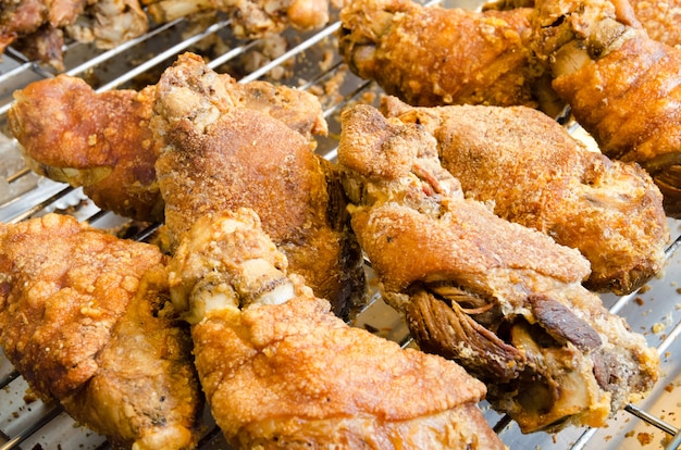 Fried pork leg
