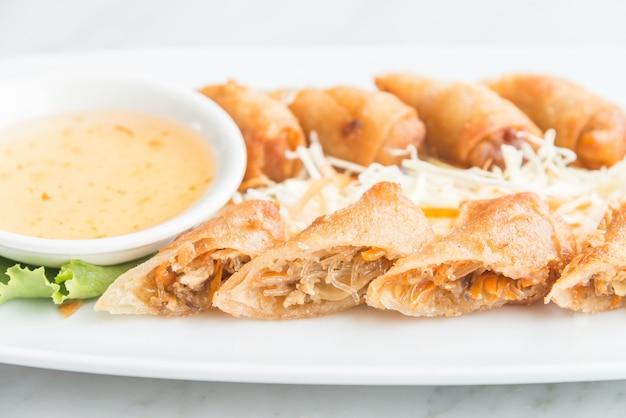 Fried spring rolls