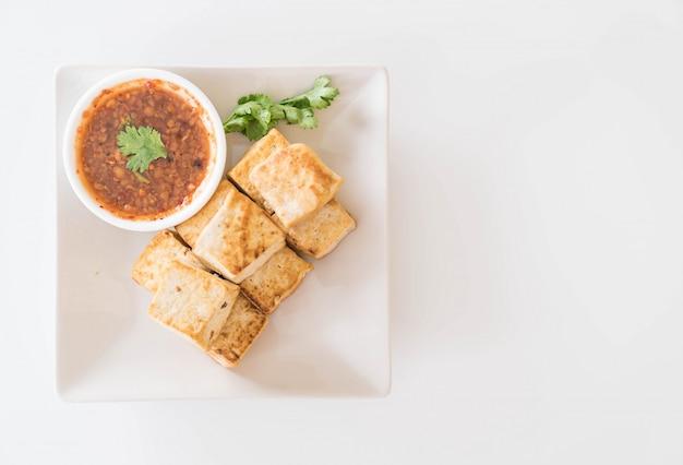 Fried tofu - healthy food