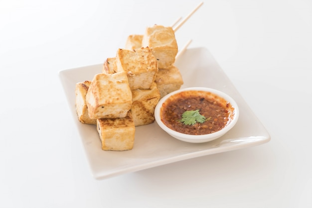 Fried tofu - healthy food
