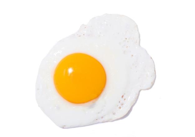 튀긴 노란 계란