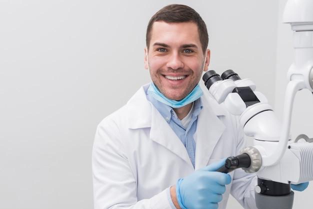 Friendly dentist