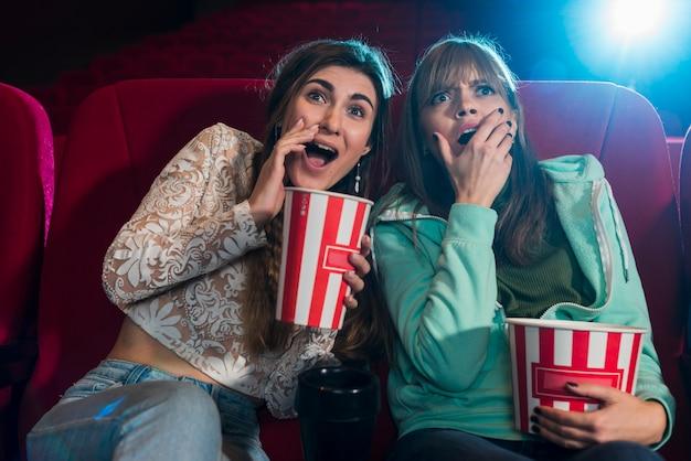 Friends in cinema