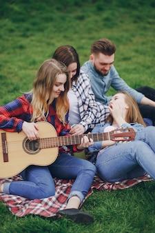 ピクニックの友達