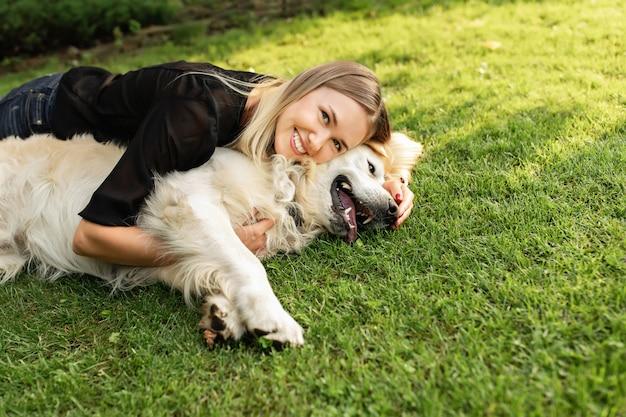 Дружба людей и собаки
