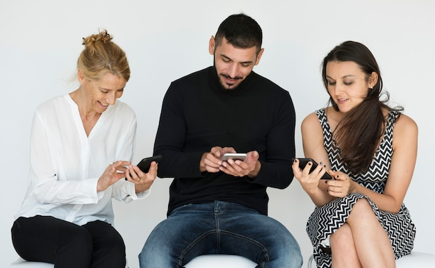 Friendship using mobile phone connection