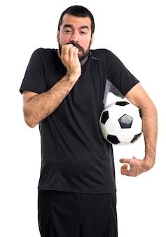 怖いサッカー選手