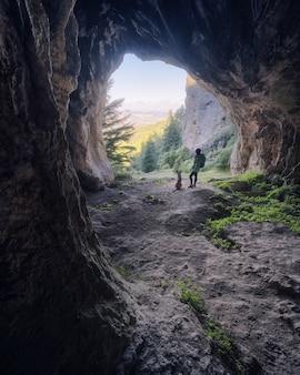 From the cueva del agua sierra de las nieves malaga