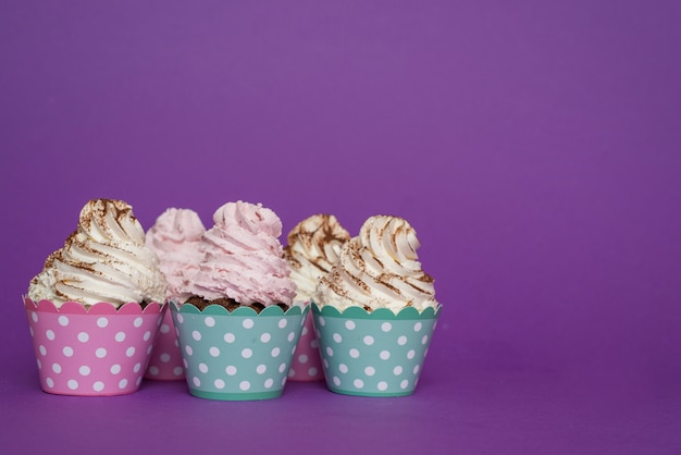 Front view cupcake group