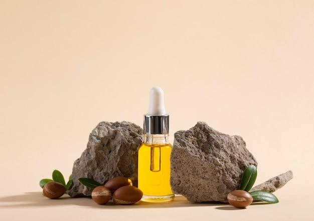 Вид спереди здоровый состав арганового масла