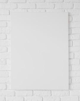 空白フレームの概念の正面図