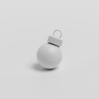 クリスマスボールの正面図