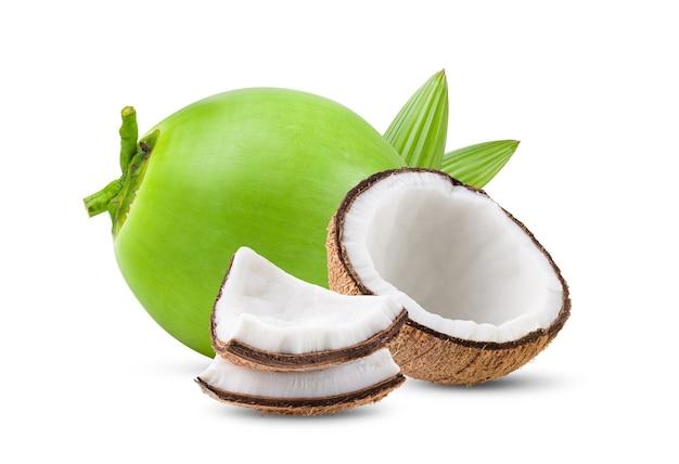 ココナッツの正面図
