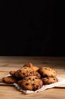 Вид печенья спереди