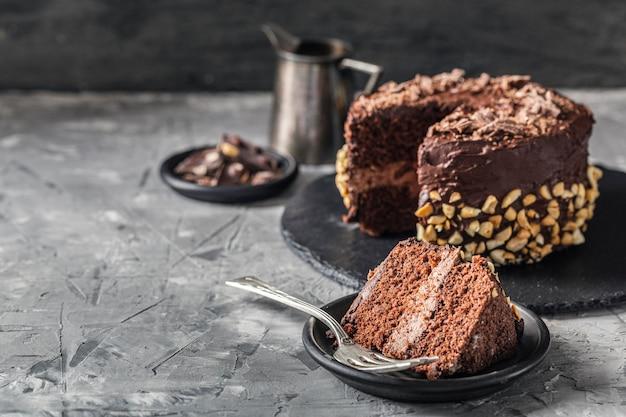 おいしいケーキのコンセプトの正面図