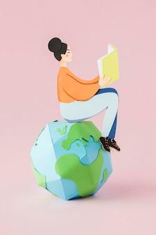 教育の日の概念の正面図