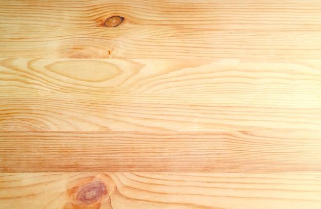 背景またはバナーのライトブラウンの水平パターン天然木の板の正面図