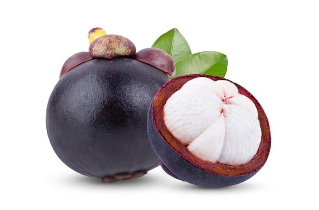 Вид спереди плоды мангустана