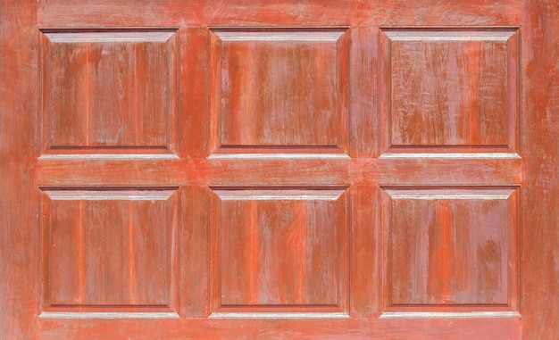 Front view of pattern wooden panel,window or door of wooden wall grunge wood panels used as background