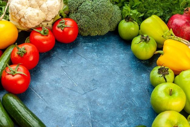 Овощной вид спереди
